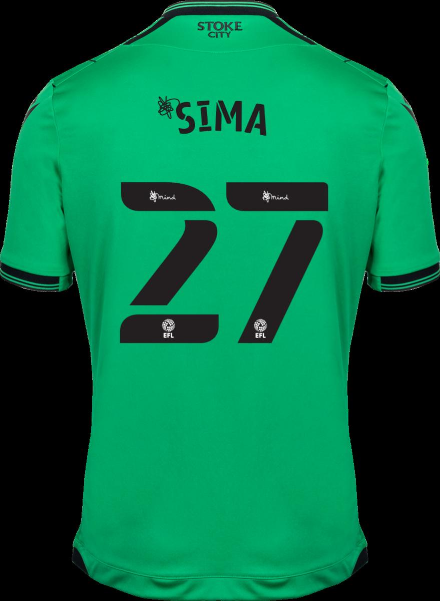 2021/22 Unsponsored Adult Away SS Shirt - Sima