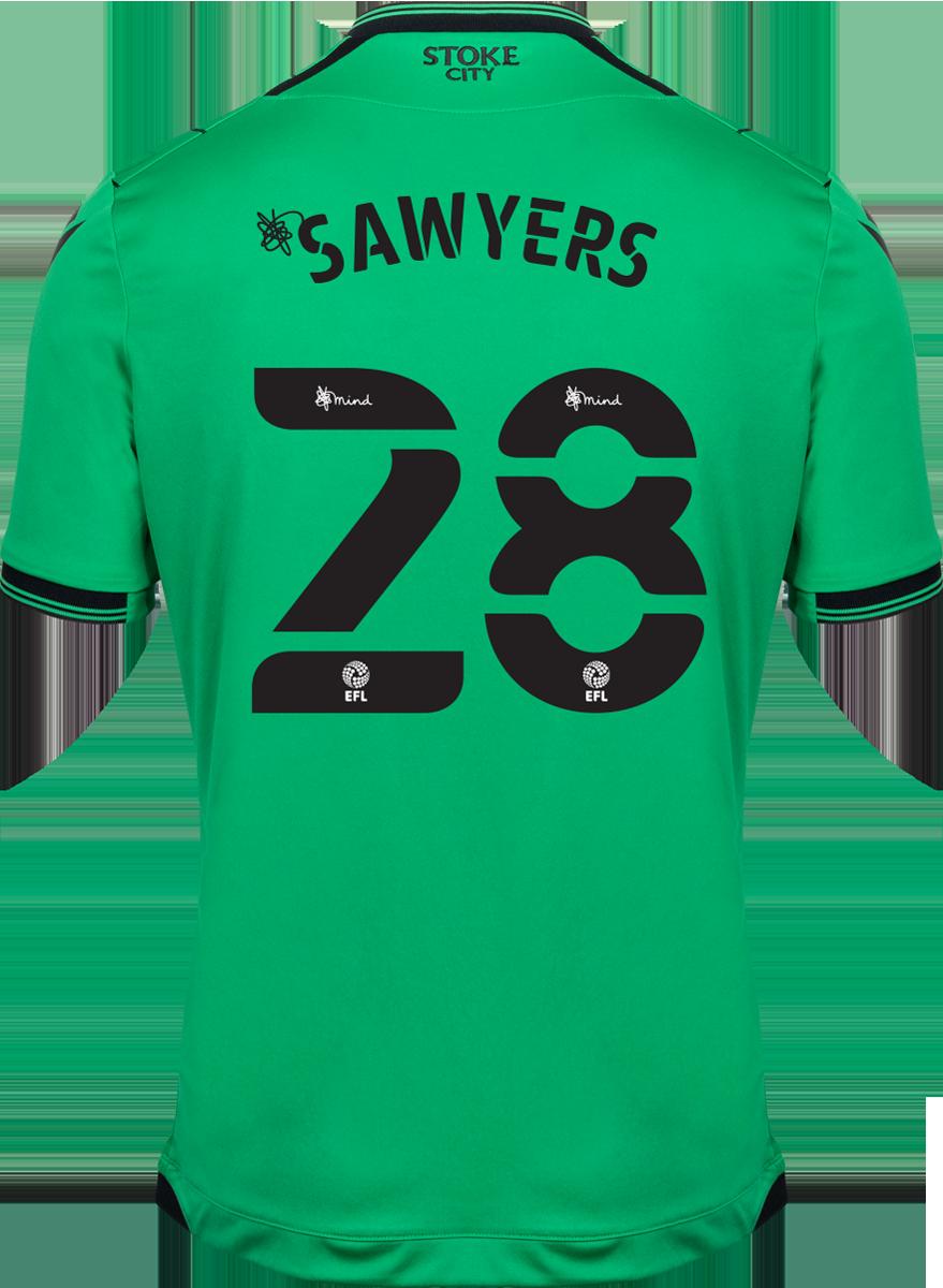 2021/22 Unsponsored Adult Away SS Shirt - Sawyers
