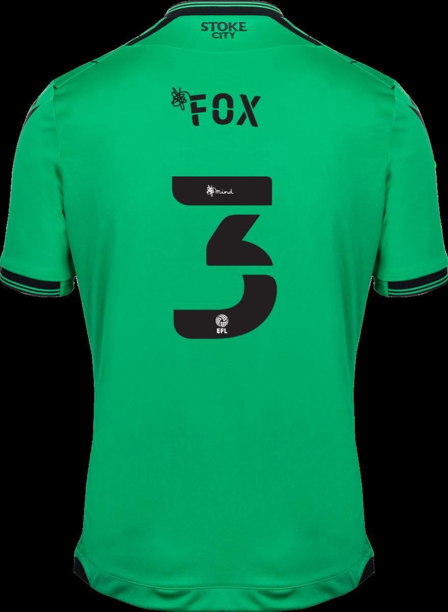2021/22 Unsponsored Adult Away SS Shirt - Fox