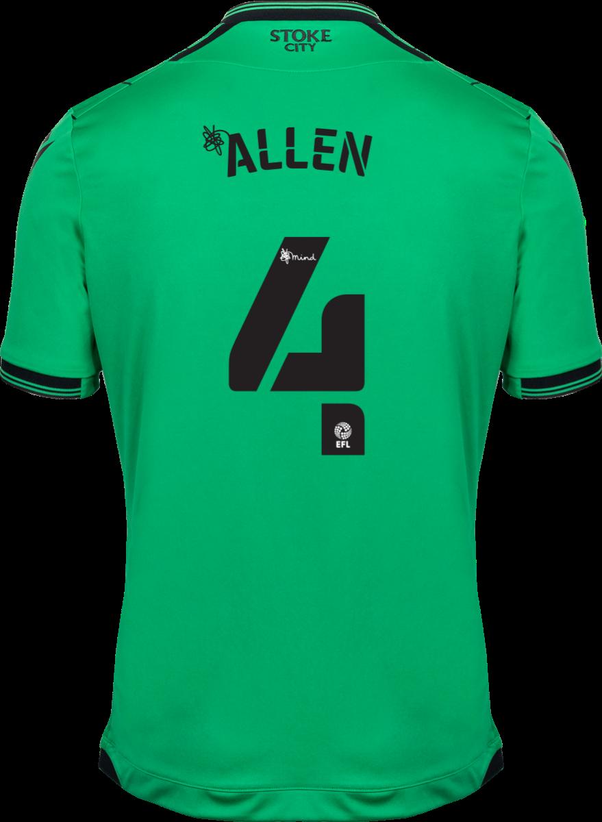 2021/22 Unsponsored Adult Away SS Shirt - Allen