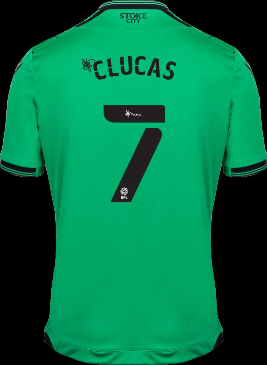 2021/22 Unsponsored Adult Away SS Shirt - Clucas