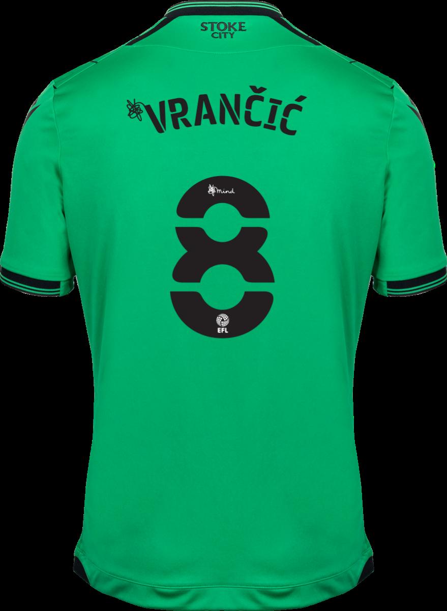 2021/22 Unsponsored Adult Away SS Shirt - Vrancic