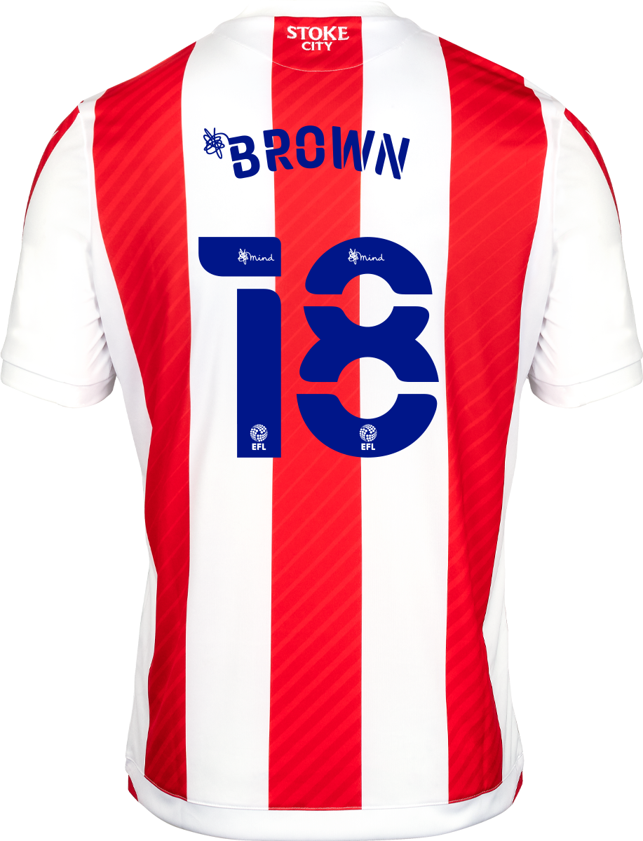 2021/22 Adult Home SS Shirt - Brown