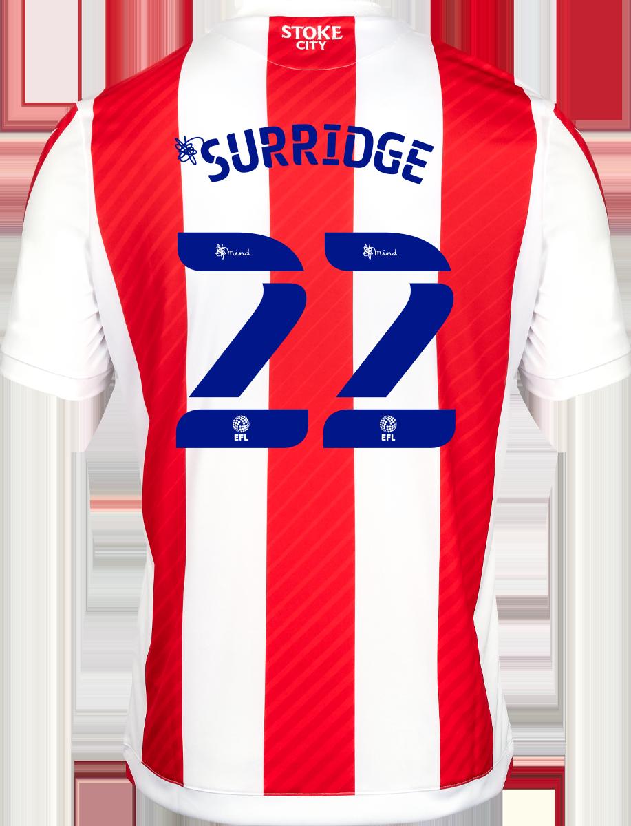 2021/22 Unsponsored Adult Home SS Shirt - Surridge