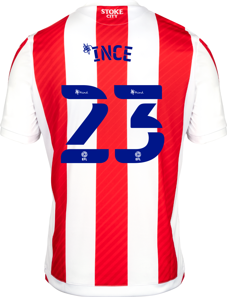 2021/22 Unsponsored Adult Home SS Shirt - Ince