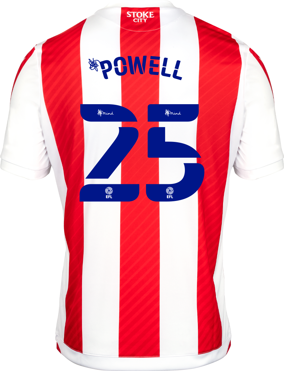 2021/22 Unsponsored Adult Home SS Shirt - Powell