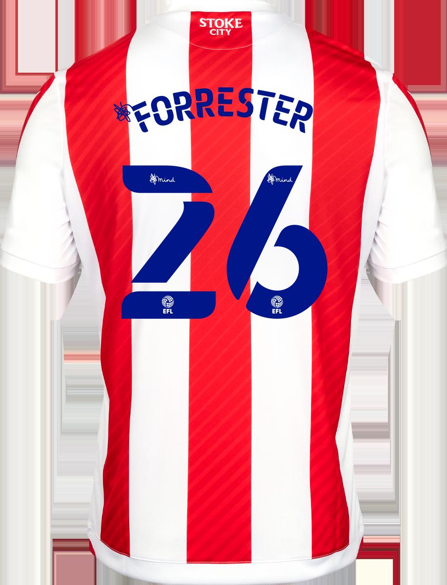 2021/22 Unsponsored Adult Home SS Shirt - Forrester