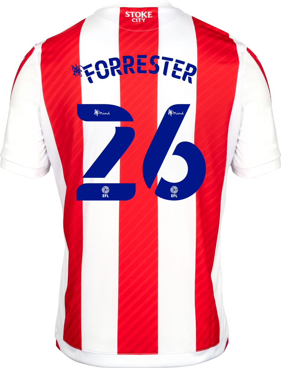 2021/22 Adult Home SS Shirt - Forrester