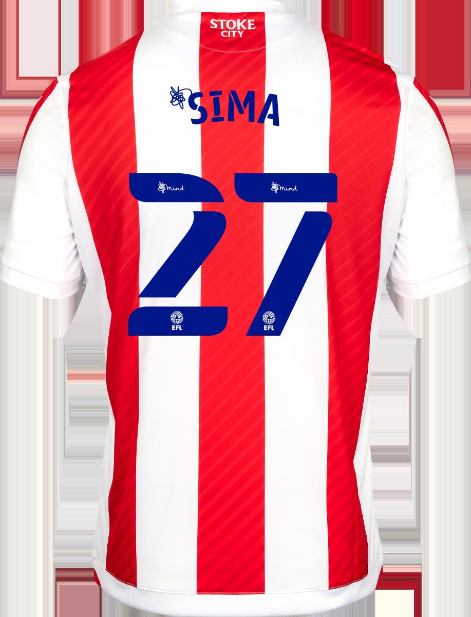 2021/22 Adult Home SS Shirt - Sima