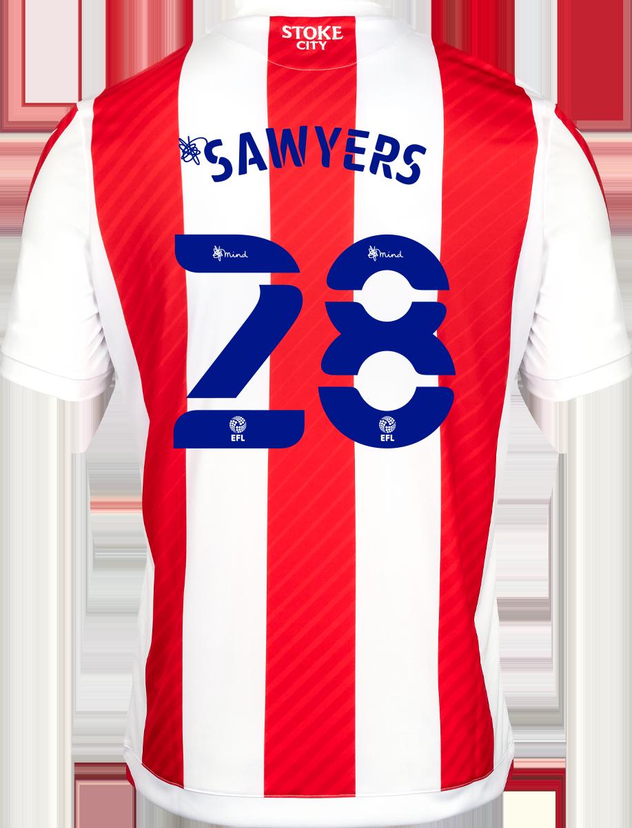 2021/22 Unsponsored Adult Home SS Shirt - Sawyers