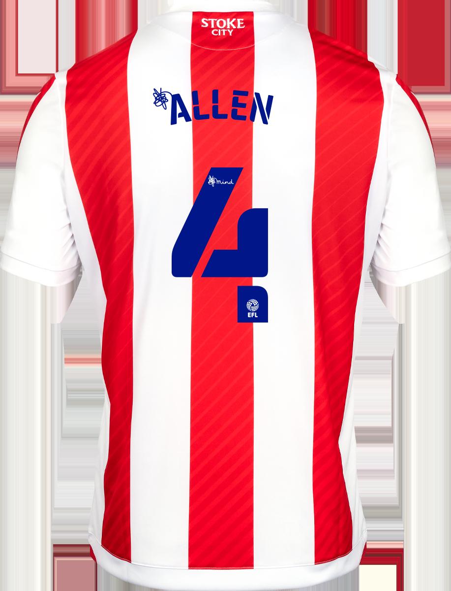 2021/22 Unsponsored Adult Home SS Shirt - Allen