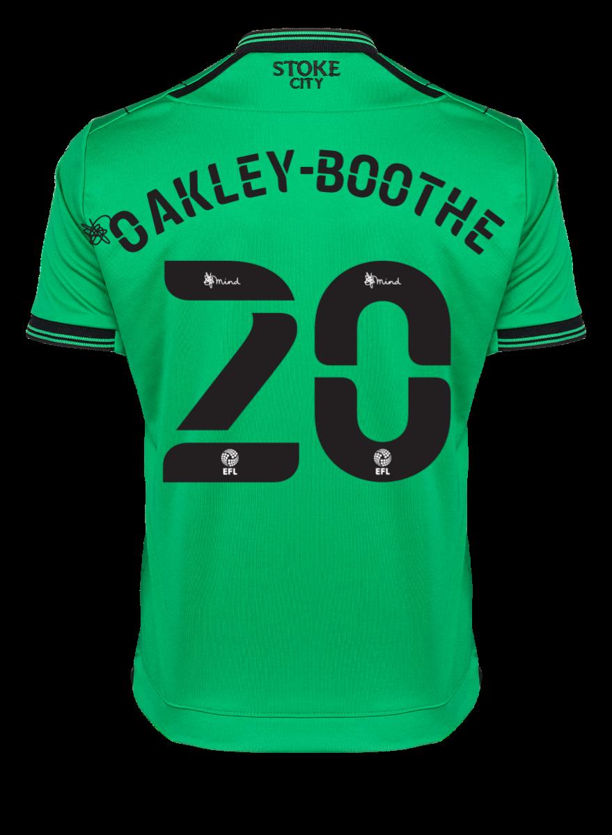 2021/22 Junior Away SS Shirt - Oakley-Boothe
