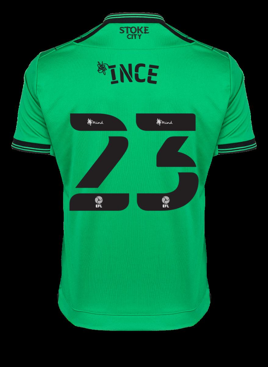2021/22 Junior Away SS Shirt - Ince