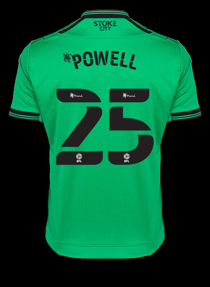 2021/22 Junior Away SS Shirt - Powell