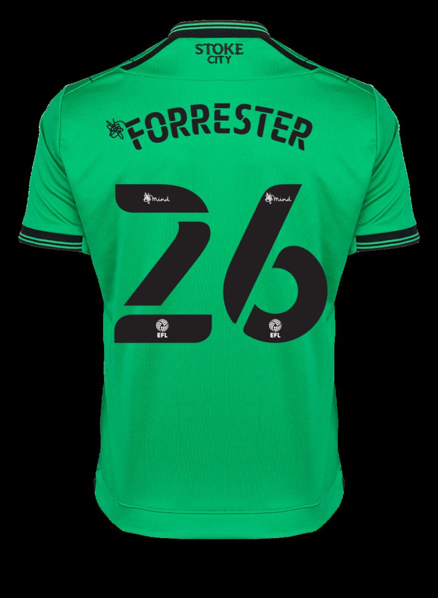 2021/22 Junior Away SS Shirt - Forrester