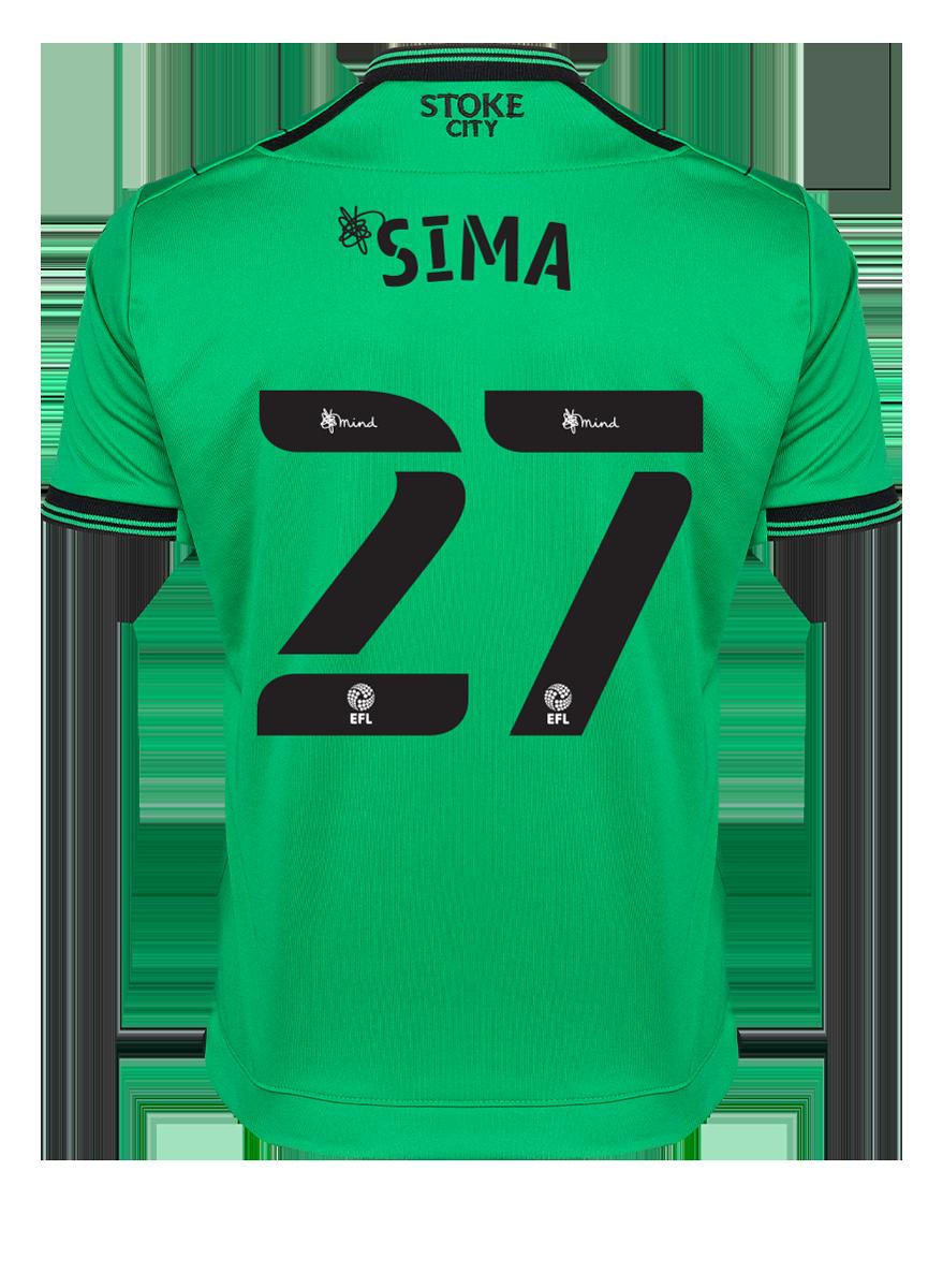 2021/22 Junior Away SS Shirt - Sima