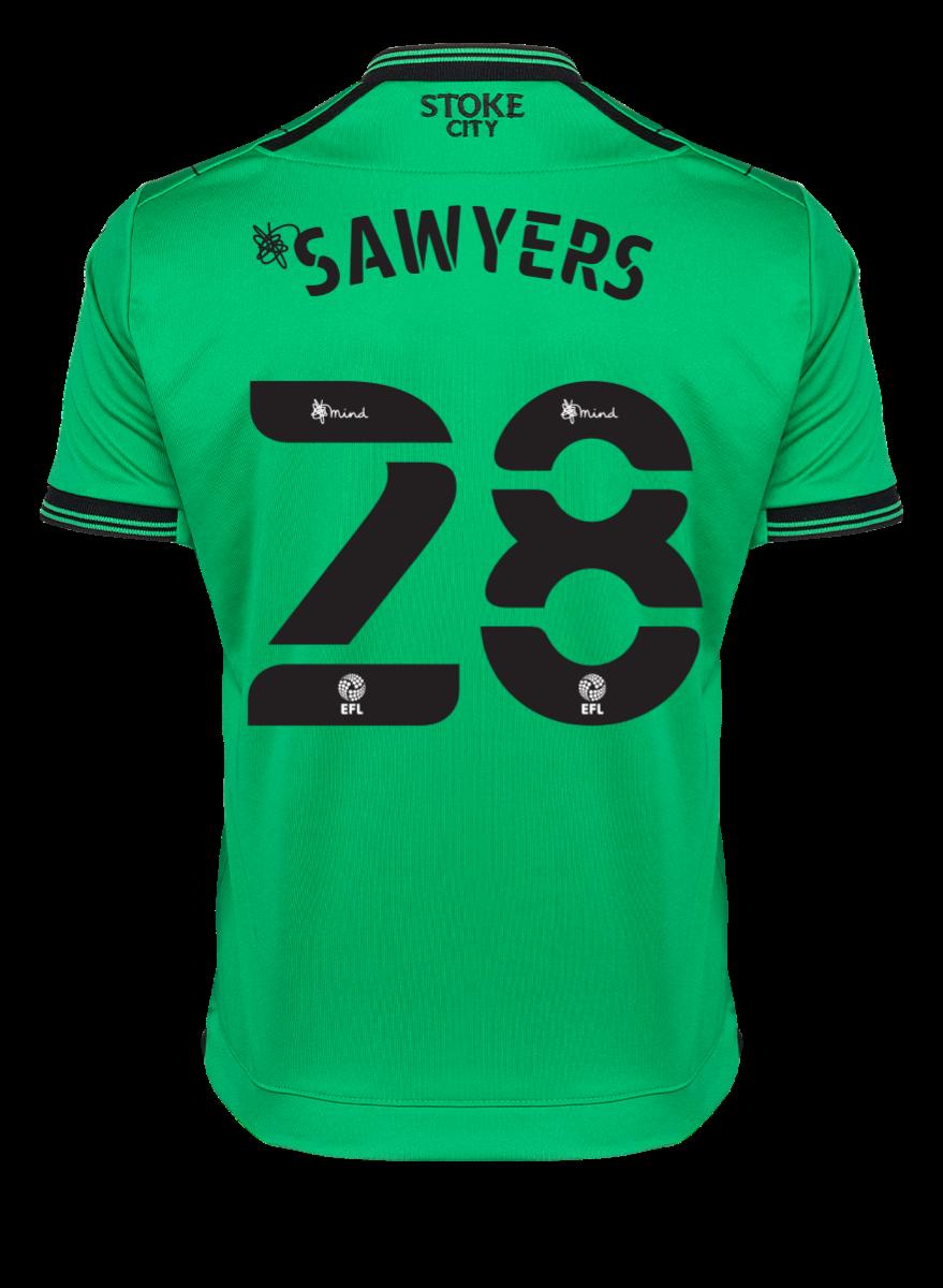 2021/22 Junior Away SS Shirt - Sawyers