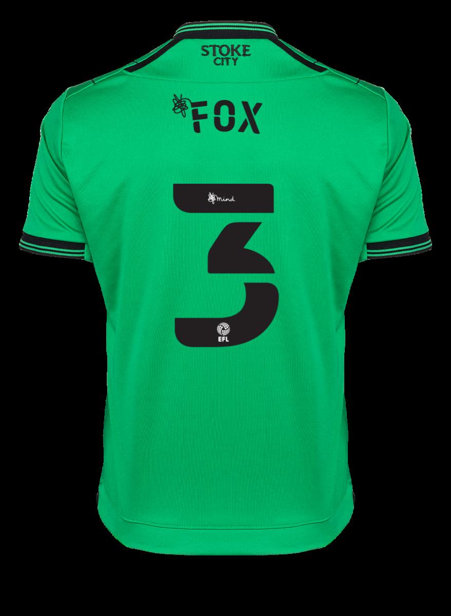 2021/22 Junior Away SS Shirt - Fox