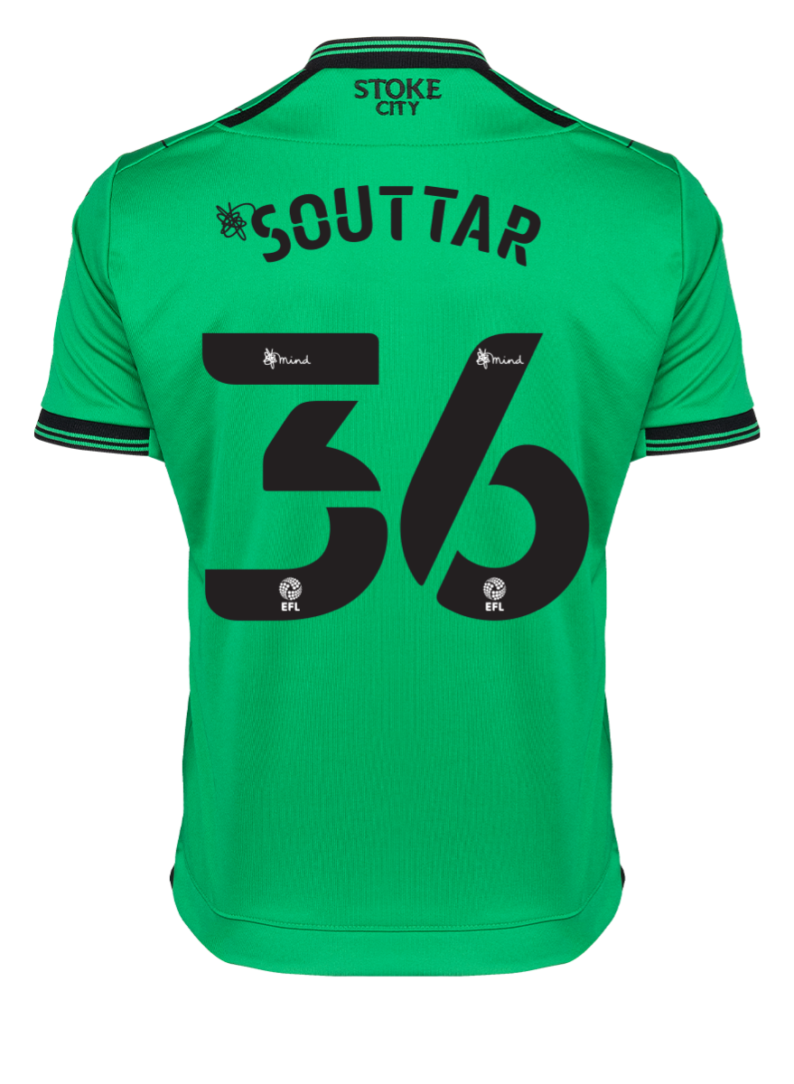 2021/22 Junior Away SS Shirt - Souttar