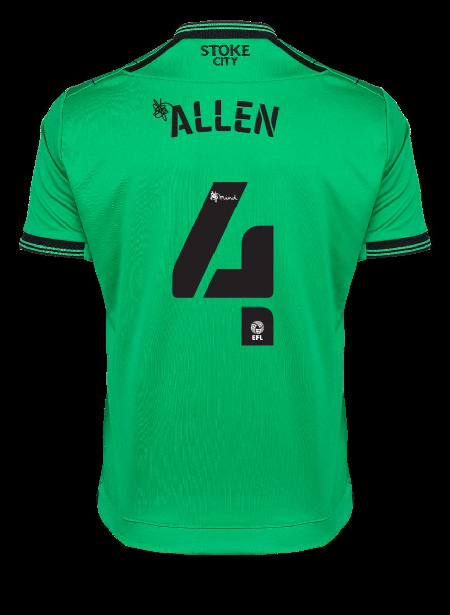 2021/22 Junior Away SS Shirt - Allen