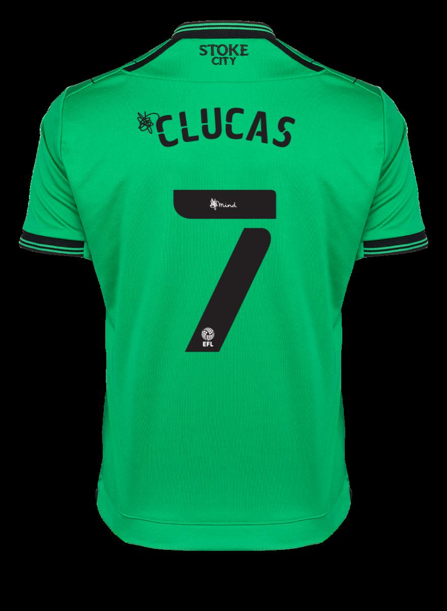2021/22 Junior Away SS Shirt - Clucas