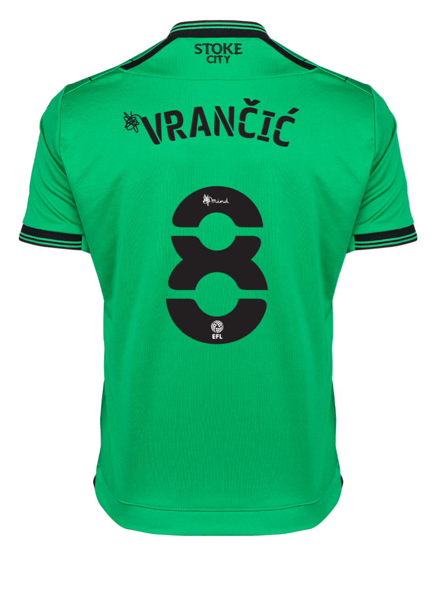 2021/22 Junior Away SS Shirt - Vrancic