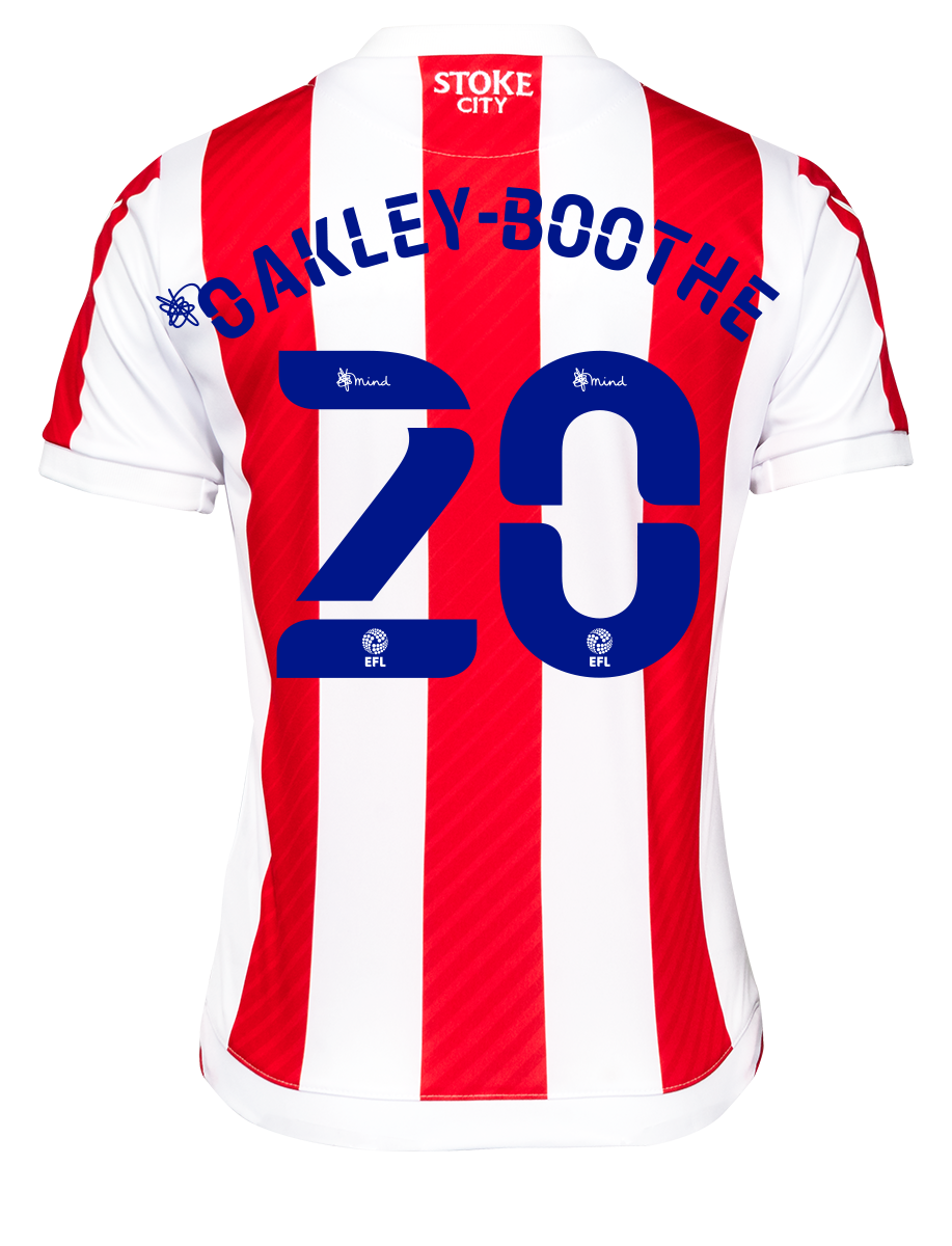 2021/22 Junior Home SS Shirt - Oakley-Boothe