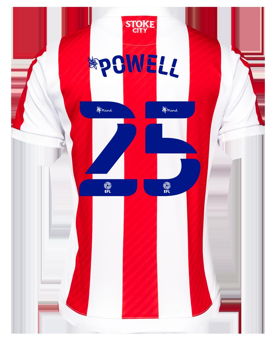 2021/22 Junior Home SS Shirt - Powell