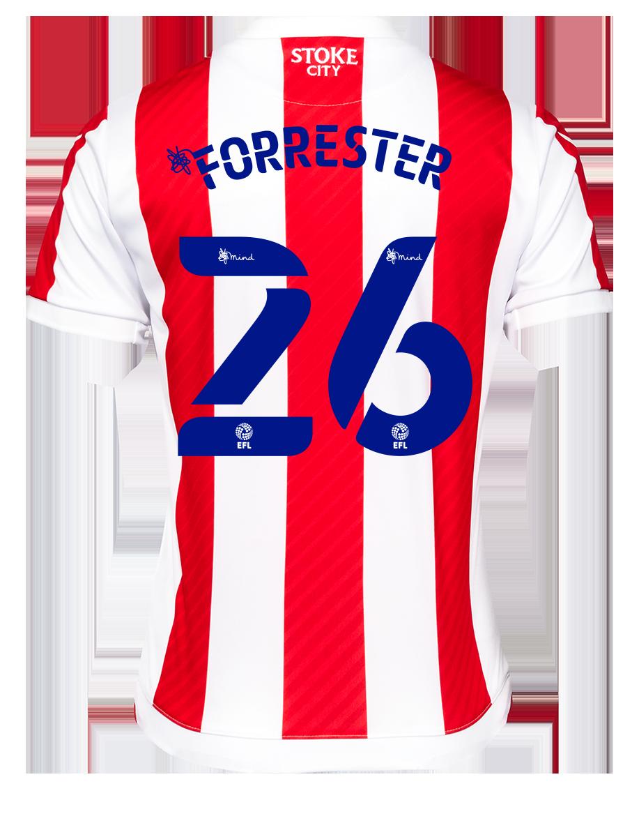 2021/22 Junior Home SS Shirt - Forrester