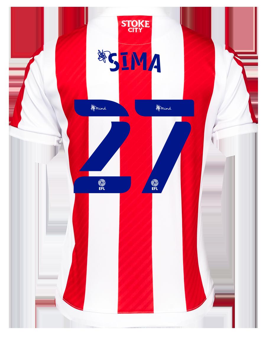 2021/22 Junior Home SS Shirt - Sima