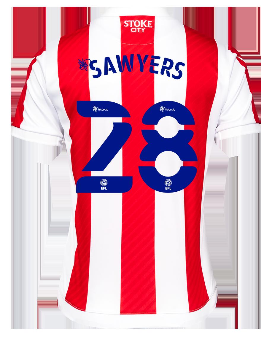 2021/22 Junior Home SS Shirt - Sawyers