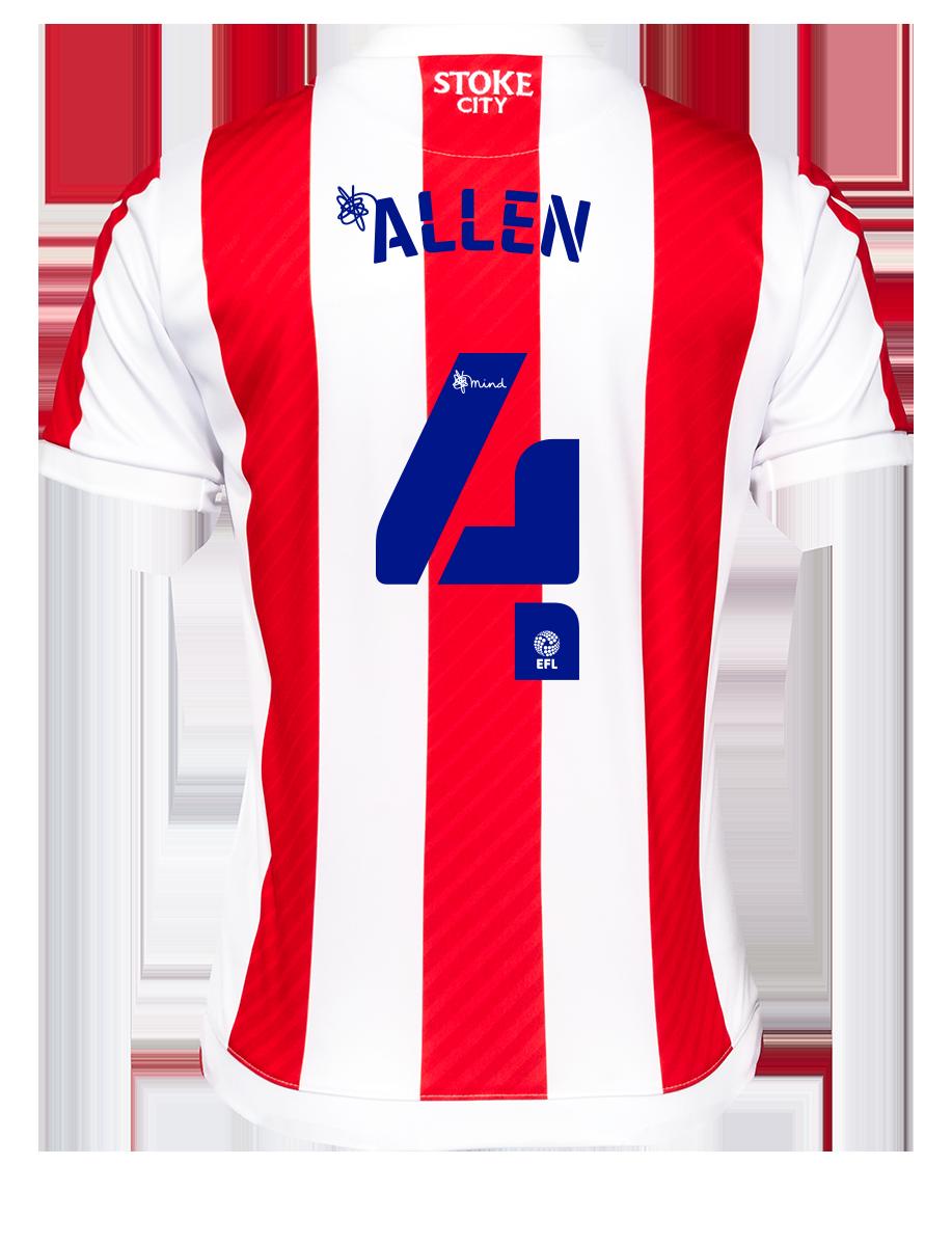 2021/22 Junior Home SS Shirt - Allen