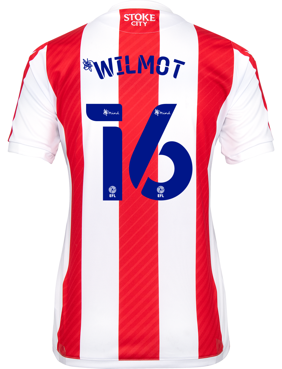 2021/22 Ladies Fit Home Shirt - Wilmot