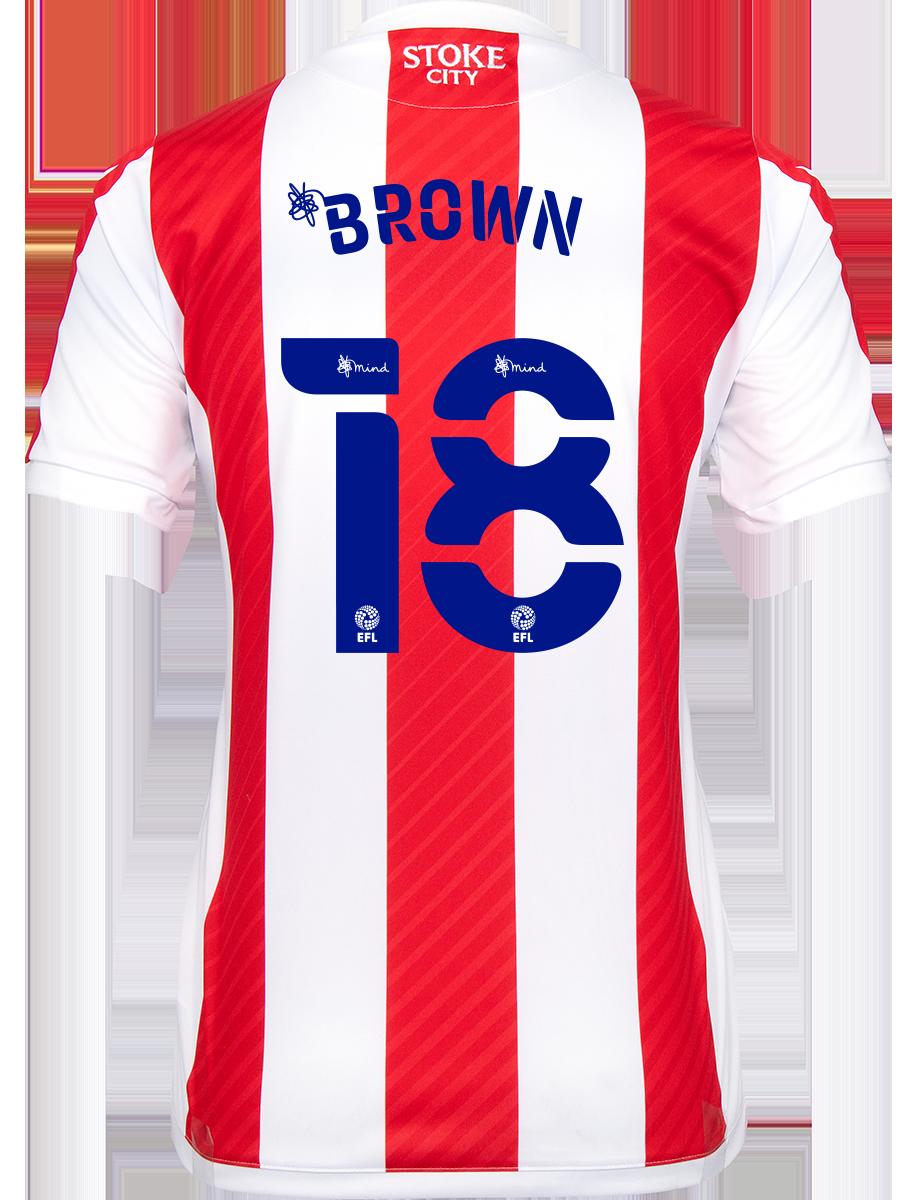 2021/22 Ladies Fit Home Shirt - Brown