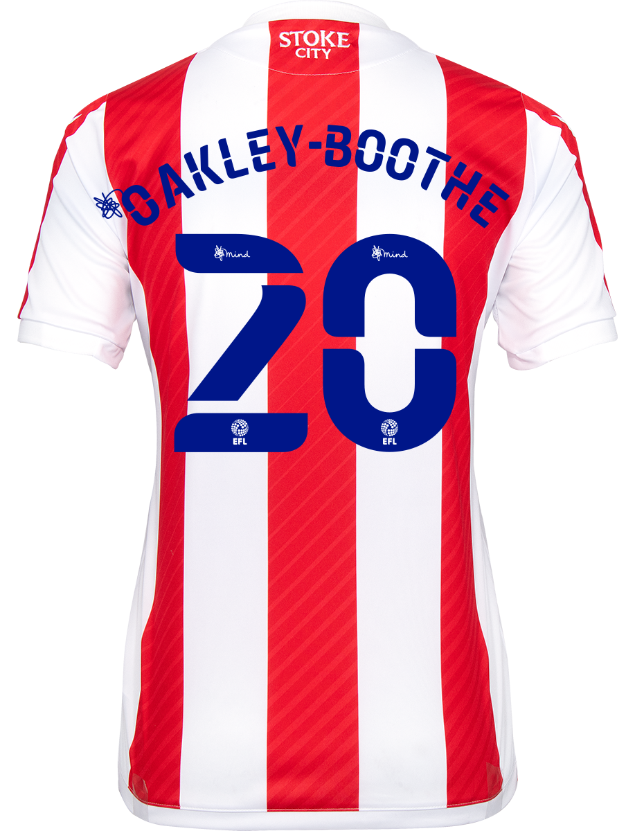 2021/22 Ladies Fit Home Shirt - Oakley-Boothe