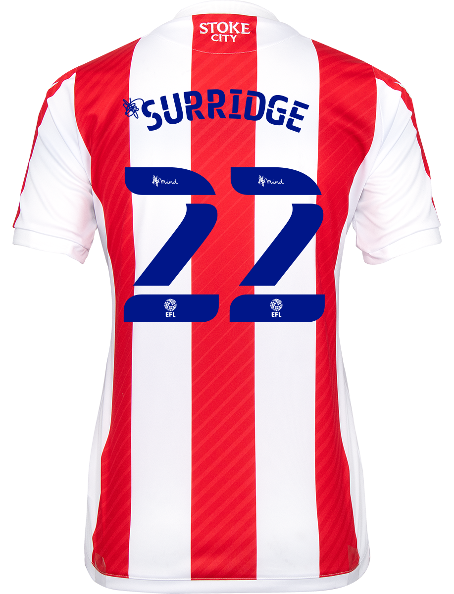 2021/22 Ladies Fit Home Shirt - Surridge