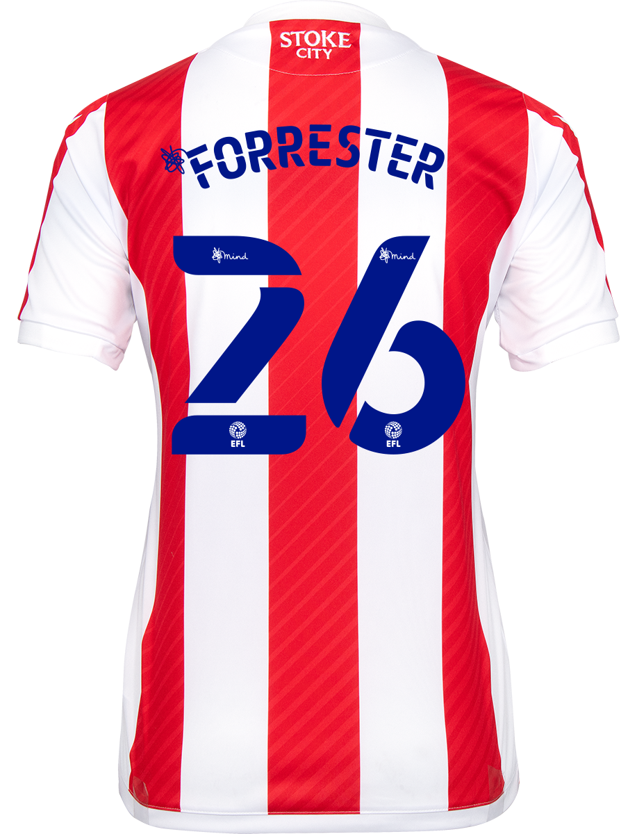 2021/22 Ladies Fit Home Shirt - Forrester