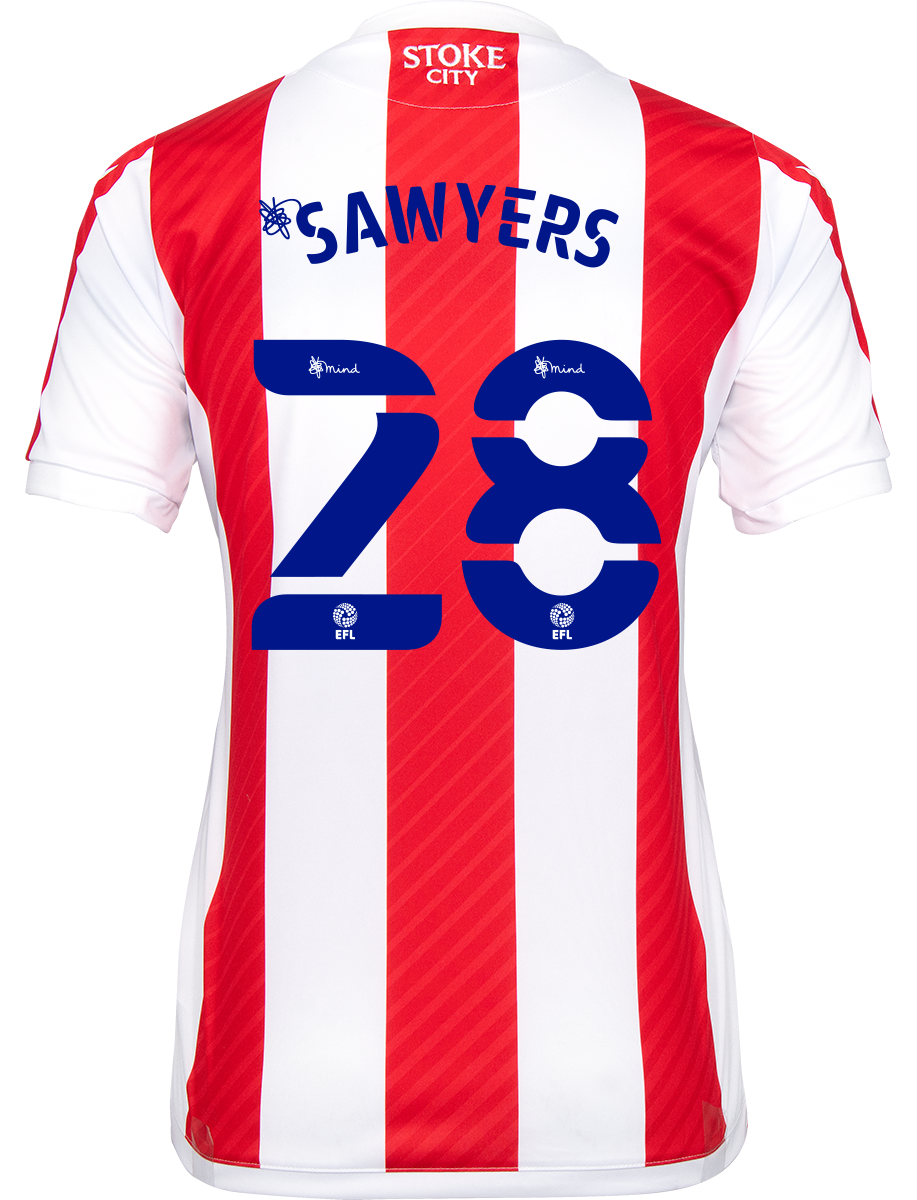 2021/22 Ladies Fit Home Shirt - Sawyers