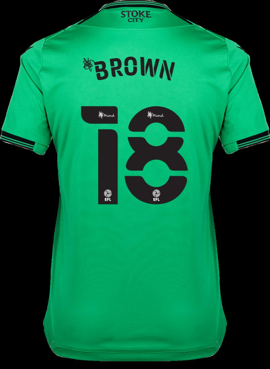 2021/22 Ladies Away Shirt - Brown
