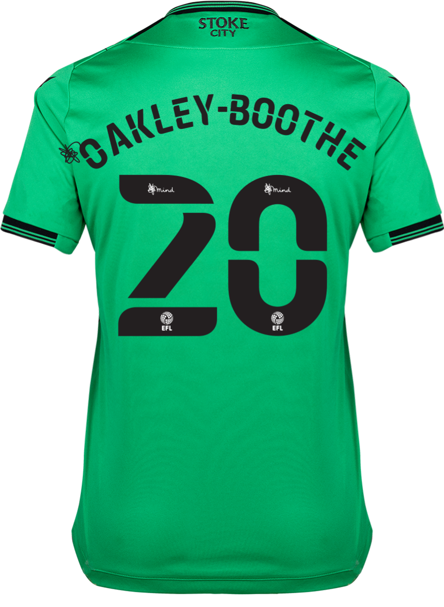 2021/22 Ladies Away Shirt - Oakley-Boothe