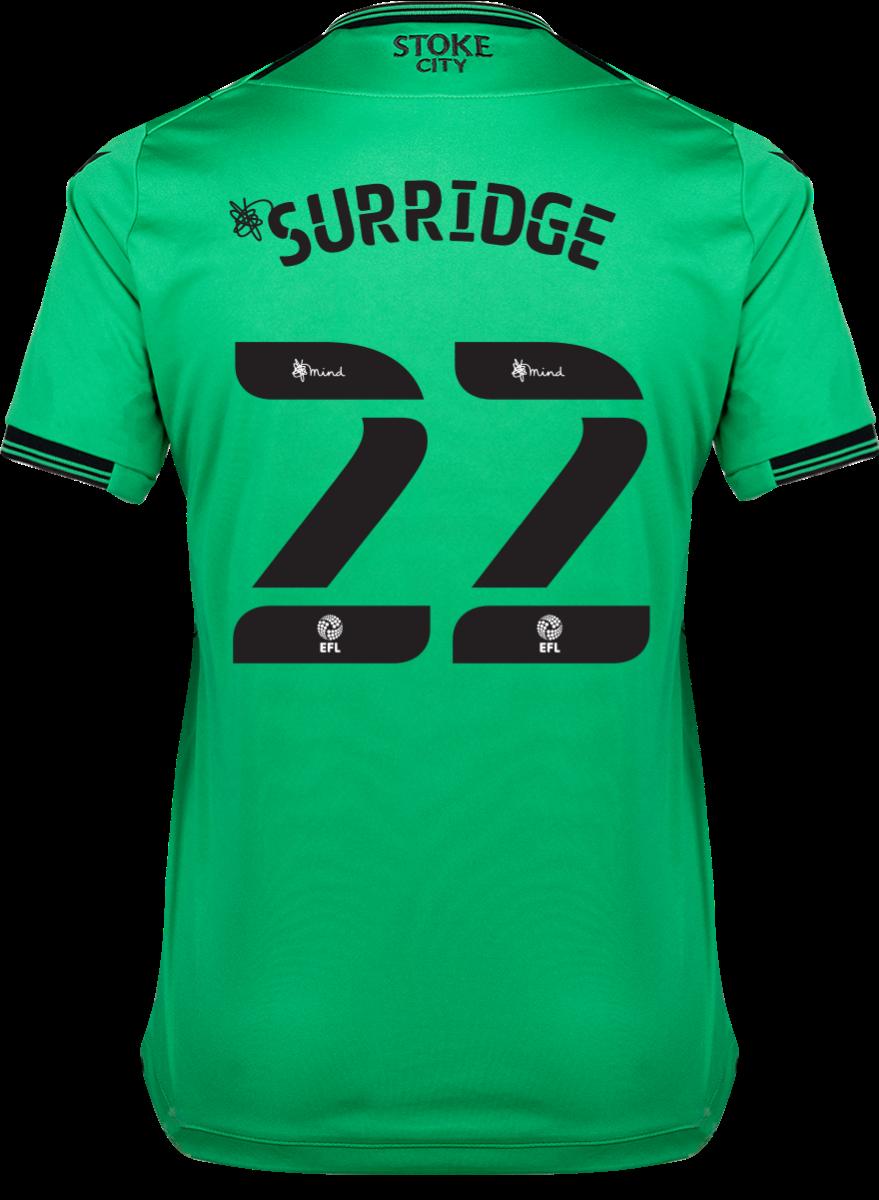 2021/22 Ladies Away Shirt - Surridge