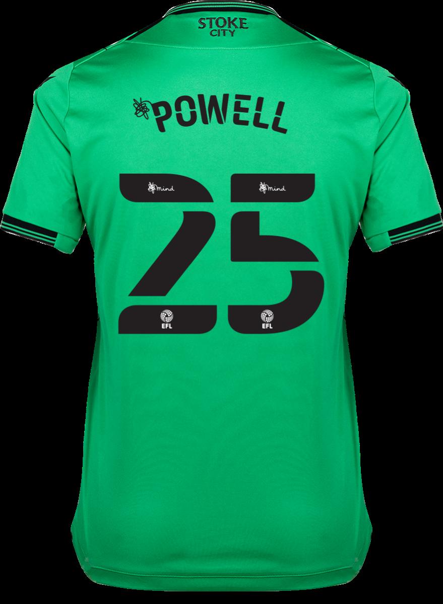 2021/22 Ladies Away Shirt - Powell