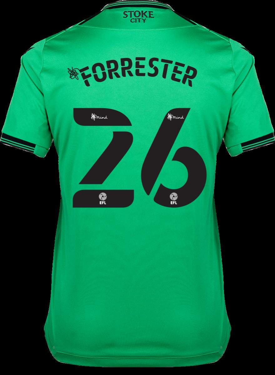 2021/22 Ladies Away Shirt - Forrester