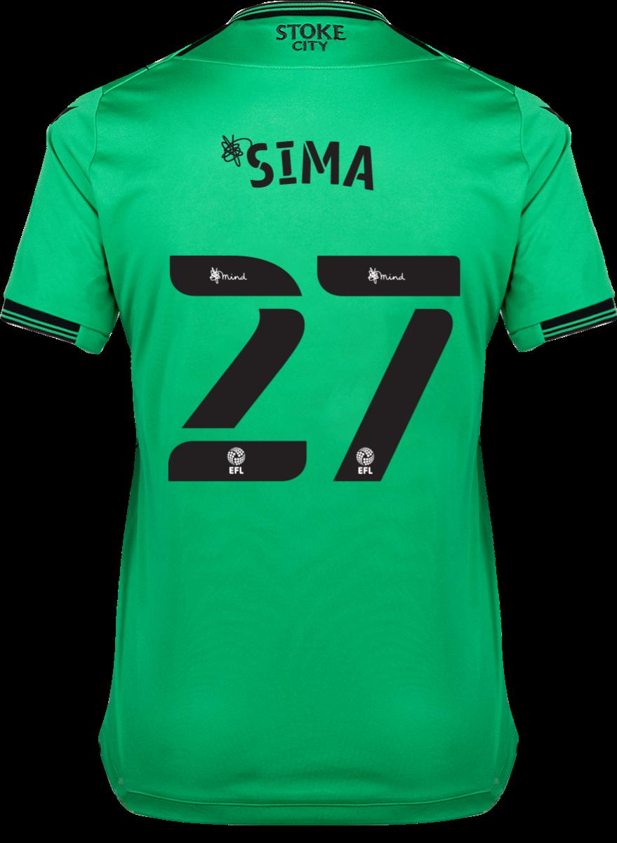 2021/22 Ladies Away Shirt - Sima