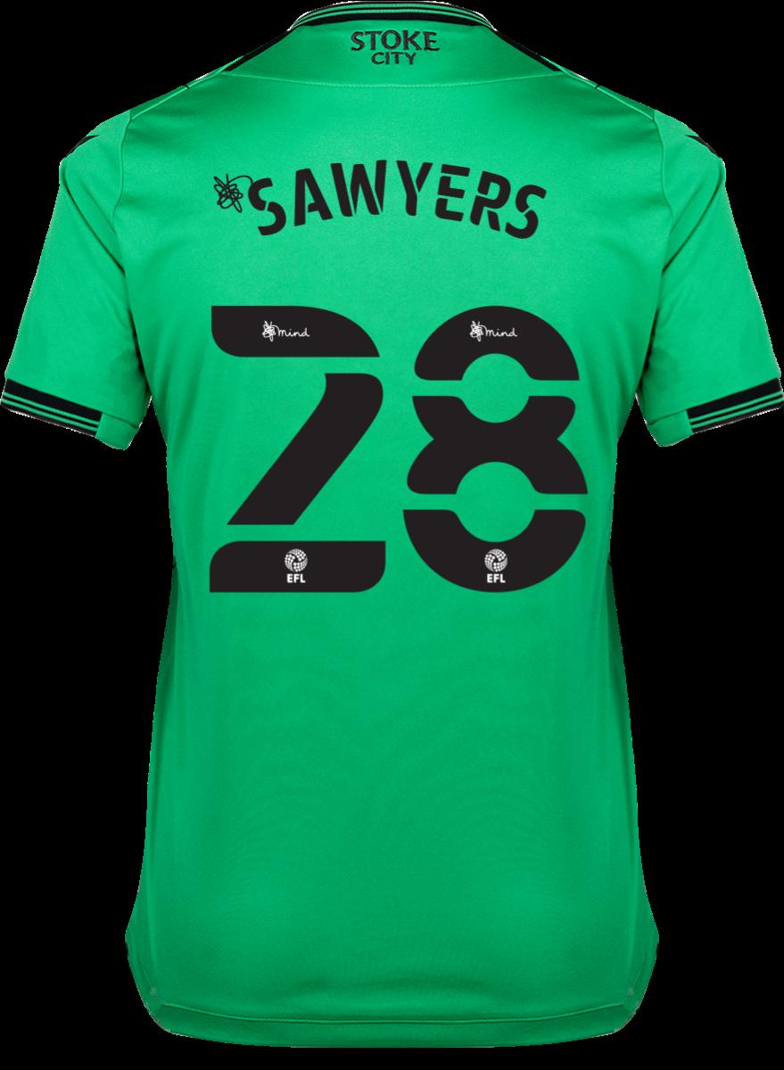 2021/22 Ladies Away Shirt - Sawyers