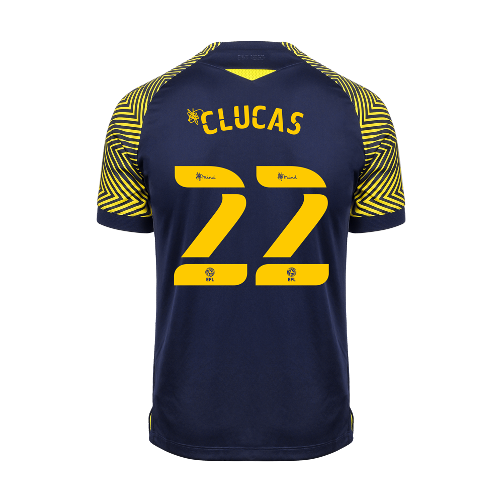 2020/21 Junior Away SS Shirt - Clucas