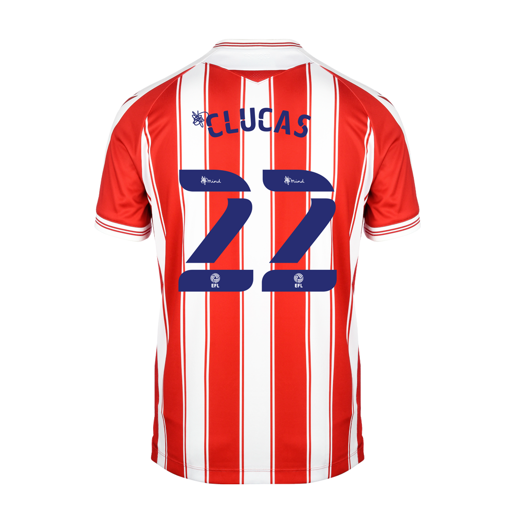 2020/21 Junior Home SS Shirt - Clucas
