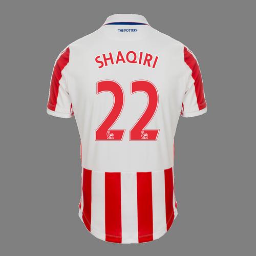 2016-17 Adult Home SS Shirt - Shaqiri