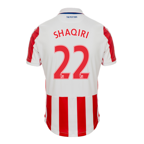 2016-17 Ladies Fit SS Home Shirt - Shaqiri