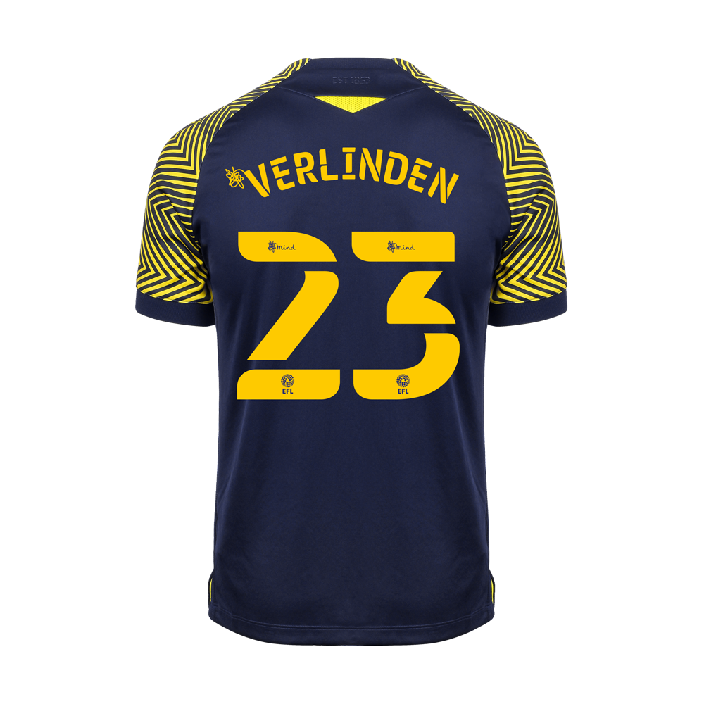 2020/21 Junior Away SS Shirt - Verlinden
